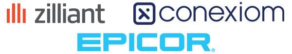 sponsor logos: Zilliant, Conexiom and Epicor