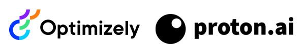 Optimizely and Proton.ai logos